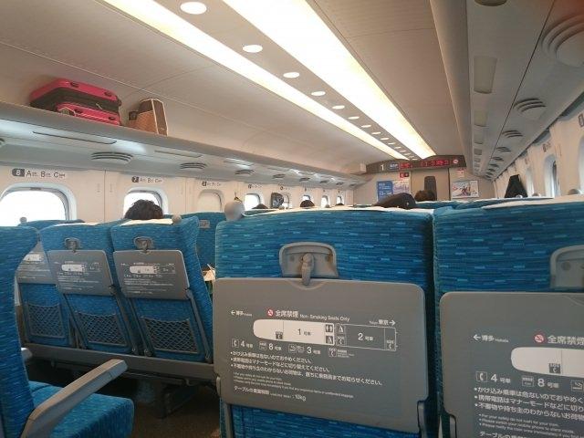新幹線禁煙車画像